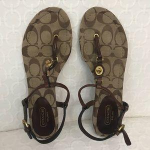 Coach Shoes - Coach t-strap sandal